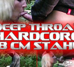 DEEPTHROAT HARDCORE / 18 CM STAHL