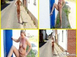 Nackt und tabulos im Dorf unterwegs!