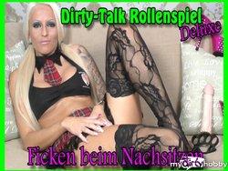 Dirty-Talk Rollenspiel Deluxe - Ficken beim Nachsitzen