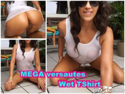 MEGA versautes Wet T-Shirt