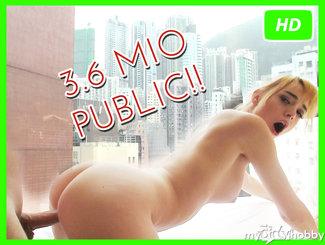 3,6 Mio. PUBLIC A-O Creampie