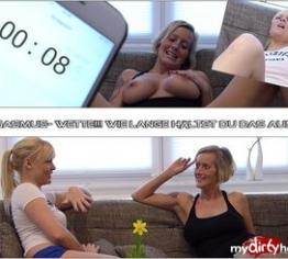 Orgasmus- Wette!!! Wie lange hältst du das aus???