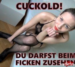 Cuckold - You can watch the fucking!