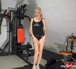 Riskant  im Fitnessstudio