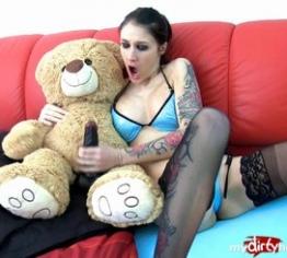Wichsanleitung mit meinem Teddy