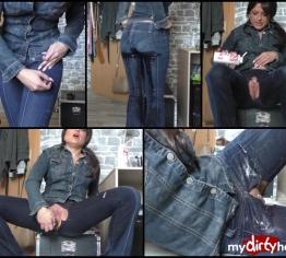 geile dirty Jeans