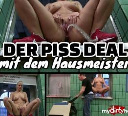 Public Piss mitten im Bahnhof - Der Hausmeister Deal