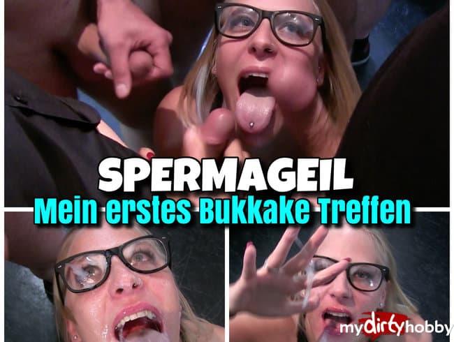 bukkake party nrw erste mal blasen