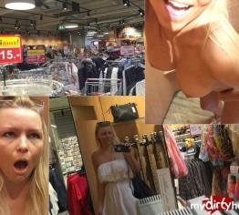 ANAL im Supermarkt – einfach UNFASSBAR!!!!