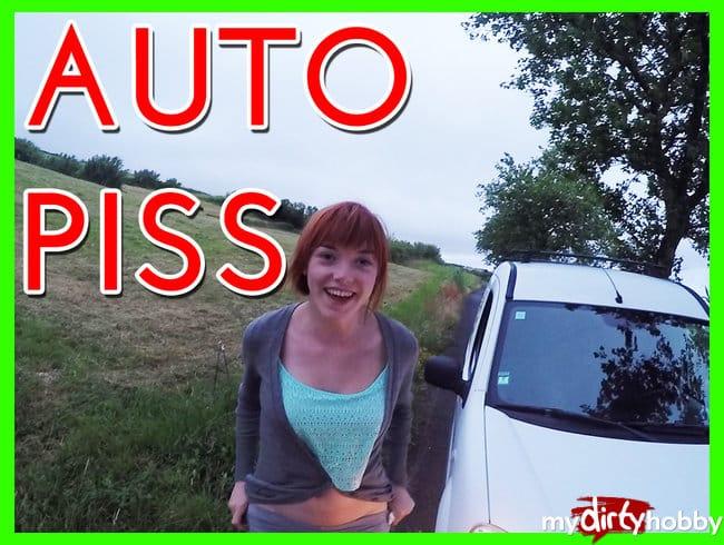 Krasser AUTO PISS !!