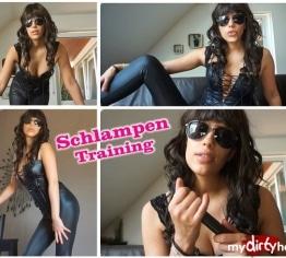 Schlampen Training