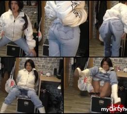 jeans und bomberjacke