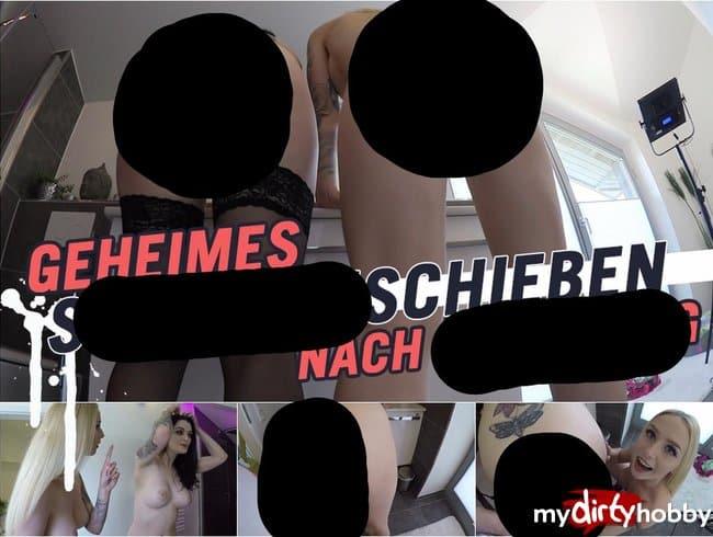 GEHEIMES SCHLAMMSCHIEBEN NACH GANGBANG!      | LUCY CAT