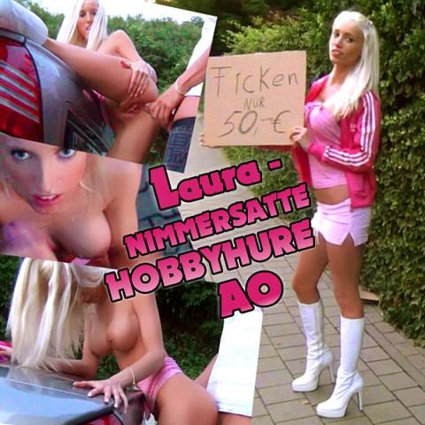 HOBBYHURE LAURA - billig willig vollgewixxt!!