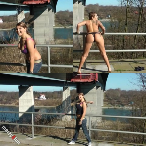 Der Lenz ist DAAA! Public Nude!