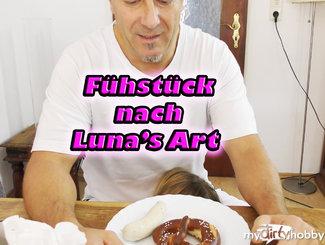 Frühstück nach Lunas Art!!!
