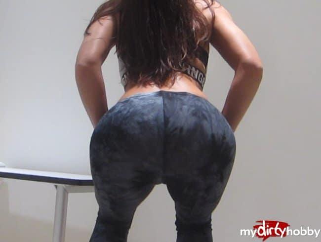 Nylon unter jeans